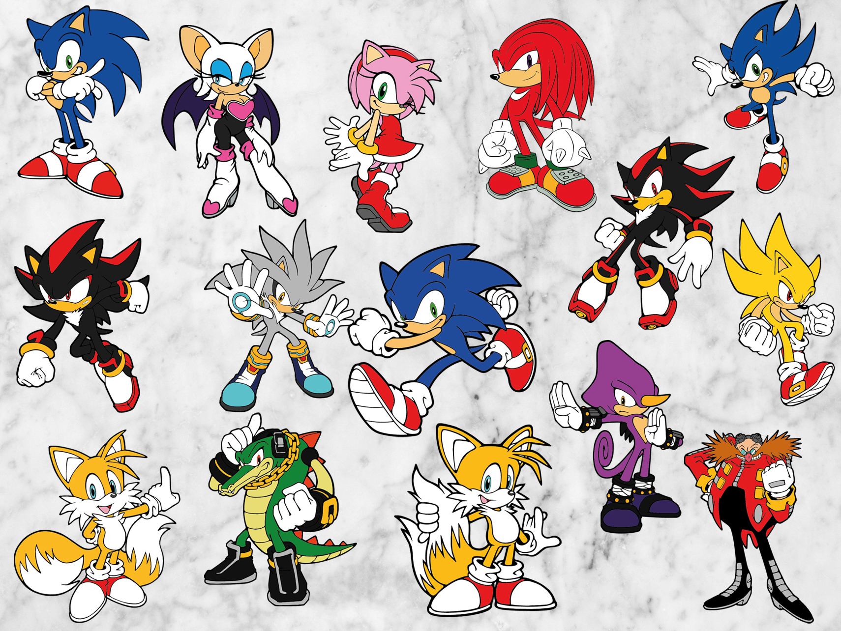 Sonic The Hedgehog Svg Files Sonic Svg By Orangecut On Zibbet