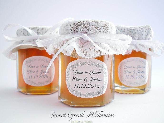 Honey Favors With Greek Honey Suitable By Sweetgreekalchemies On