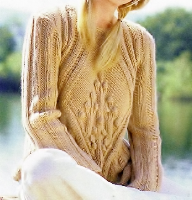 Instant PDF Download Vintage Chart Knitting Pattern for a Ladies Superbly Shaped