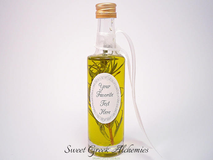 Infused Olive Oil Favors Suitable For By Sweetgreekalchemies On Zibbet