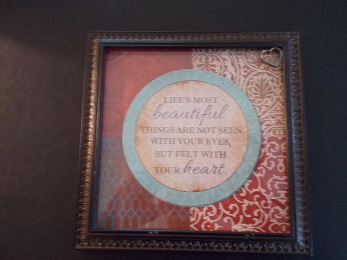 item # 051 Framed Art