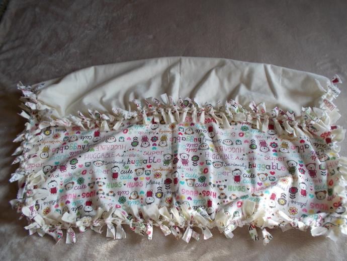 item # 062 Huggable Baby Blanket