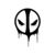Deadpool 02 Graphics design SVG DXF EPS Png Cdr Ai Pdf Vector Art Clipart