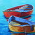 Boat Oil Painting Seascape Gift for Him fishing Boat Wall art office decor on
