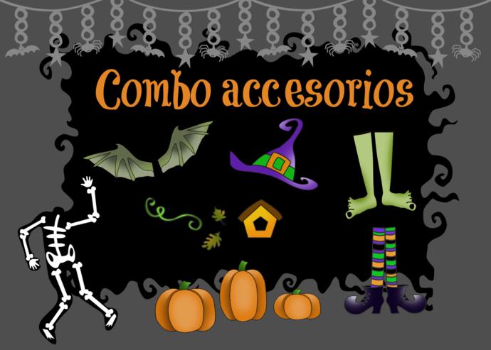 Combo Accesorios halloween
