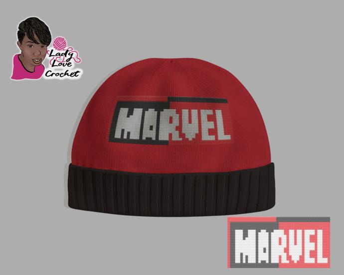 Marvel Hat Pattern