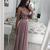 Spaghetti Strap V Neck Silver Prom Dresses with Slit Cheap Sexy Formal Dress
