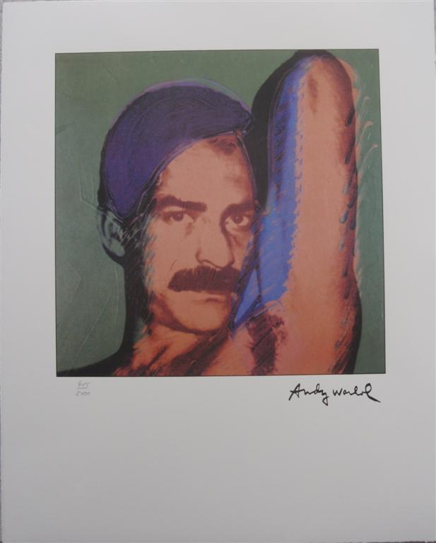 Andy Warhol Lithograph Victor Hugo limited edition editor authenticated print