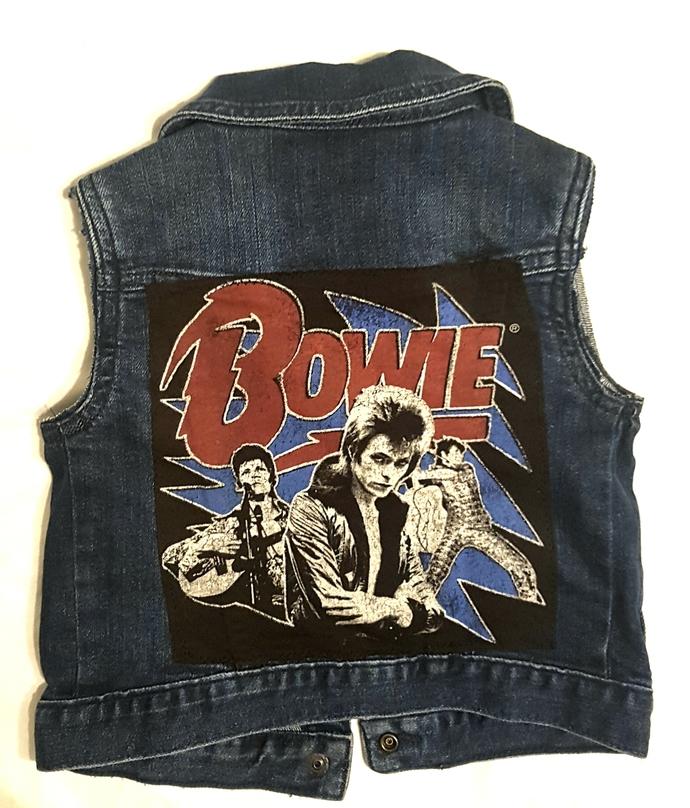 Baby BOWIE Vest-size 3t