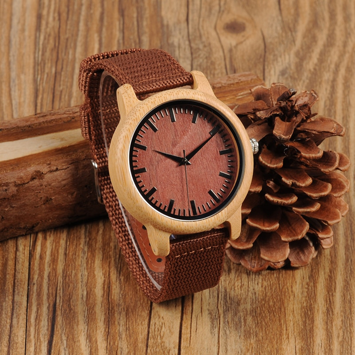 Wood Wristwatches Japan  Movement Watch Fashion
