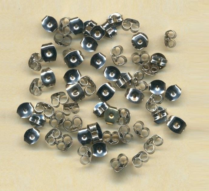 5 grams of earring backs (app 30 pairs)