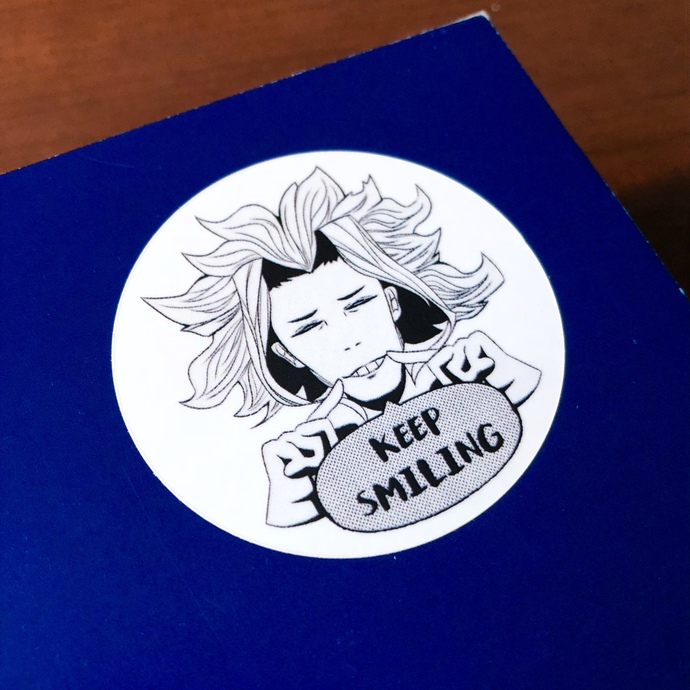 My Hero Academia - All Might Sticker