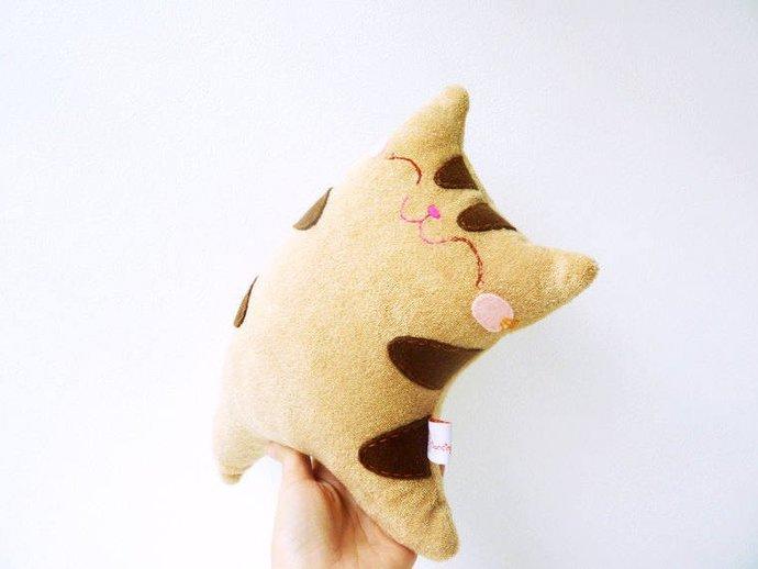 Plush cat toy for children