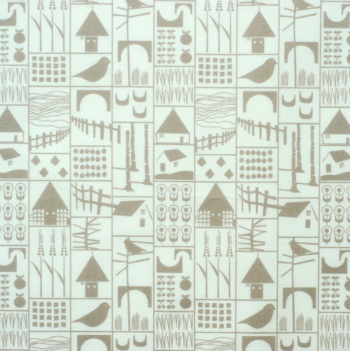 Fabric fat quarter bundle Seigaiha & bird prints - pure cotton - denim blue