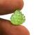 Arizona Peridot semi Precious Heart shape 14.5X15.5 Carved Loose
