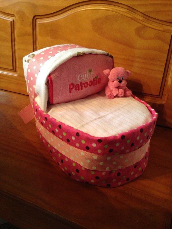 Diaper Bassinet, Diaper Cake