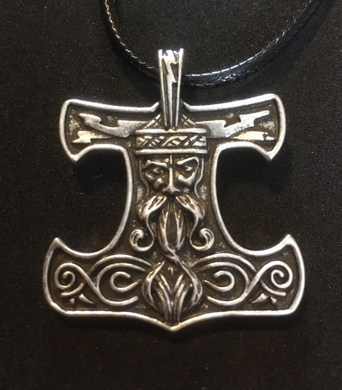 Viking Thor's Hammer Pendant Necklace - FREE GIFT WITH EVERY PURCHASE!