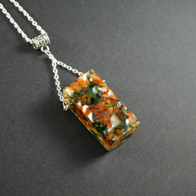 Gemstone necklace, birthstone necklace, Gemstone pendant necklace gift for