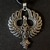 Viking Celtic Phoenix Pendant Necklace - FREE GIFT WITH EVERY PURCHASE!