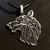 Double Sided Celtic Viking Wolf Pendant Necklace: FREE GIFT WITH EVERY PURCHASE!