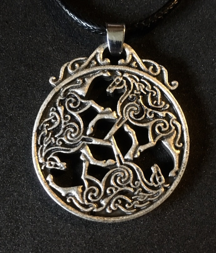 Celtic Viking Horse Necklace - Bohemian - FREE GIFT WITH EVERY PURCHASE!
