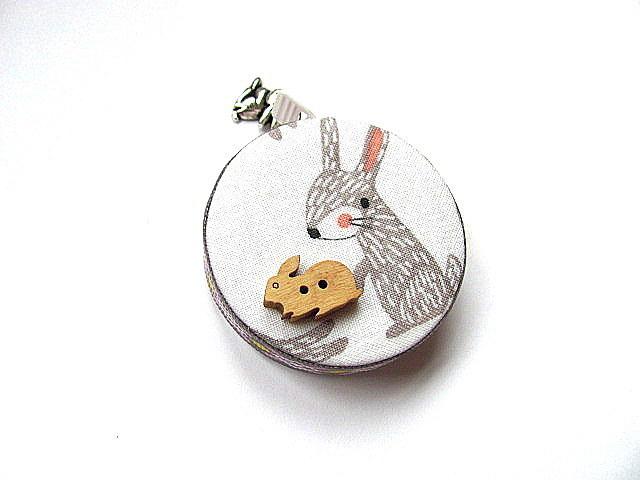 Retractable Tape Measure Bunny Rabbits Measuring Tape