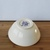 Small Handmade Ceramic Bowl with Purple Roses