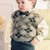 Instant Download PDF Vintage Chart Knitting Pattern to make A Baby Boy's Argyle
