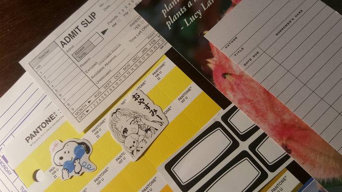 Mini Modern EPHEMERA Grab Bag Mixed Media Art Kit Journal Inspiration