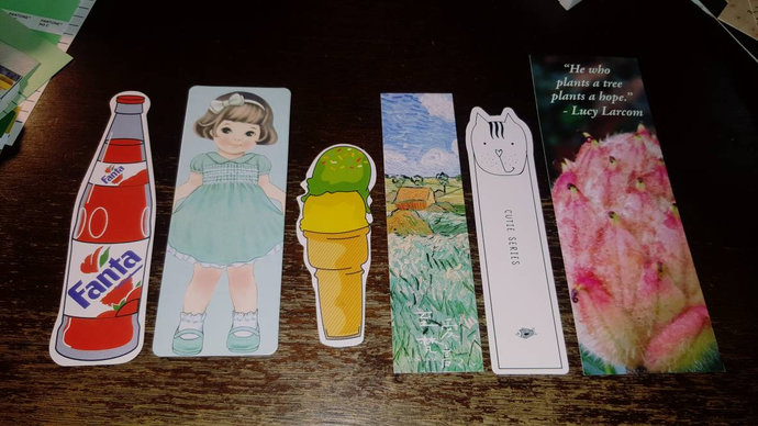 Six Bookmarks *mixed lot*