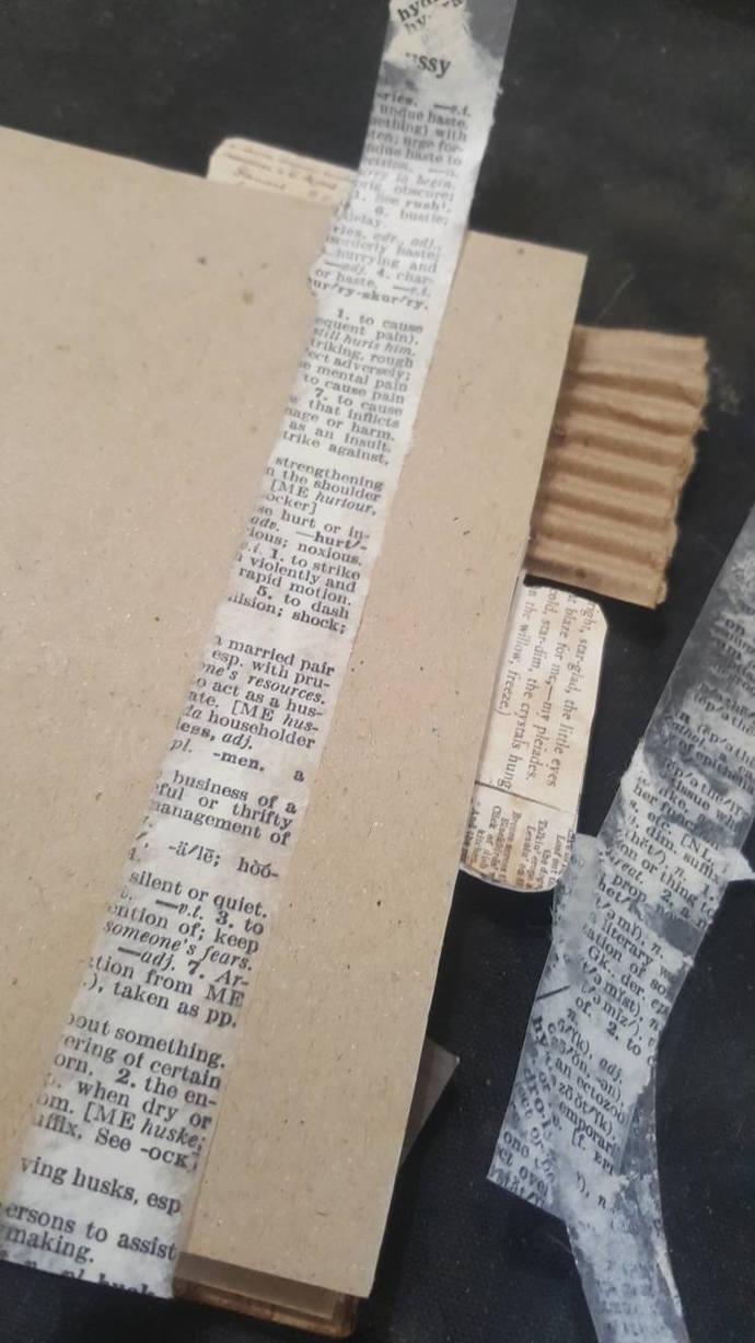 Vintage Dictionary Washi diy Tape