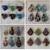 24 Glass Pendants