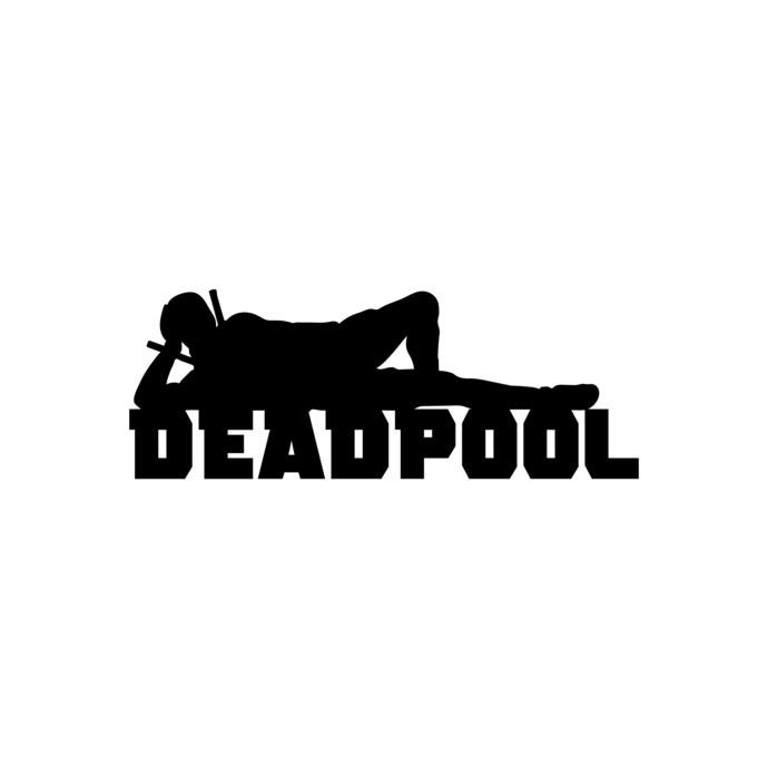 Deadpool 04 Superhero Graphics Design Svg Dxf By