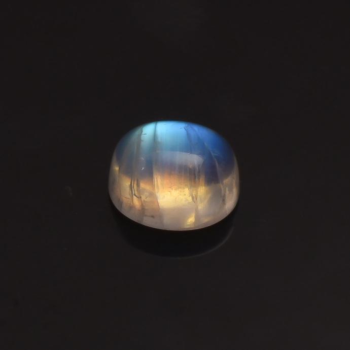 Rainbow Moonstone Oval 11x9  polished Cabochon Semi Precious Flawless Loose