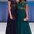 Chiffon Appliques Evening Dress, A Line Prom Dresses, Evening Formal Dress