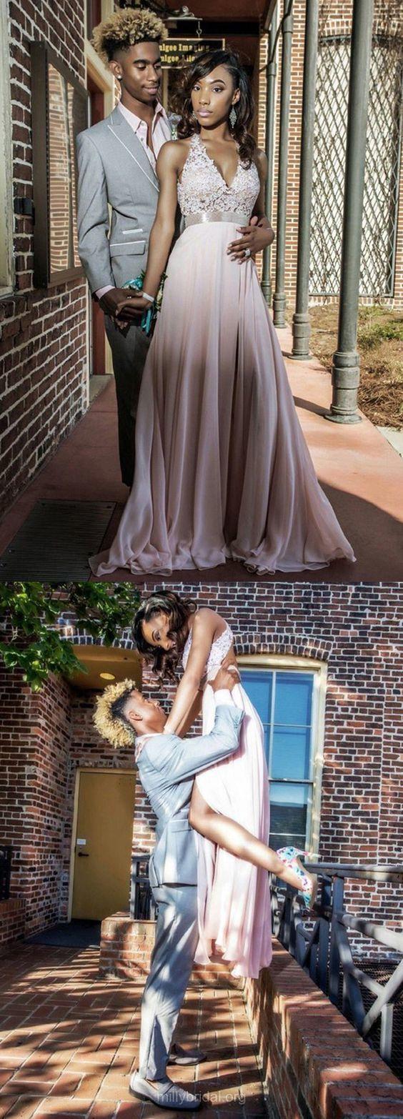 Appliques Prom Dress, A Line Prom Dresses, Sexy Sleeveless Evening Dress