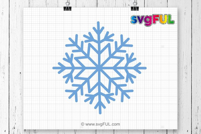 INSTANT DOWNLOAD! Snowflake Svg, Snowflake, Winter Svg, Christmas SVG,