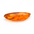 42mm Long Amber Natural Fossilized Tree Resin Fancy Shape  Semi Precious