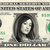 MAGGIE Q on a REAL Dollar Bill Cash Money Collectible Memorabilia Celebrity