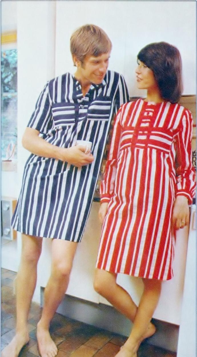 Instant PDF Digital Download Vintage Chart Sewing Pattern to make a Ladies