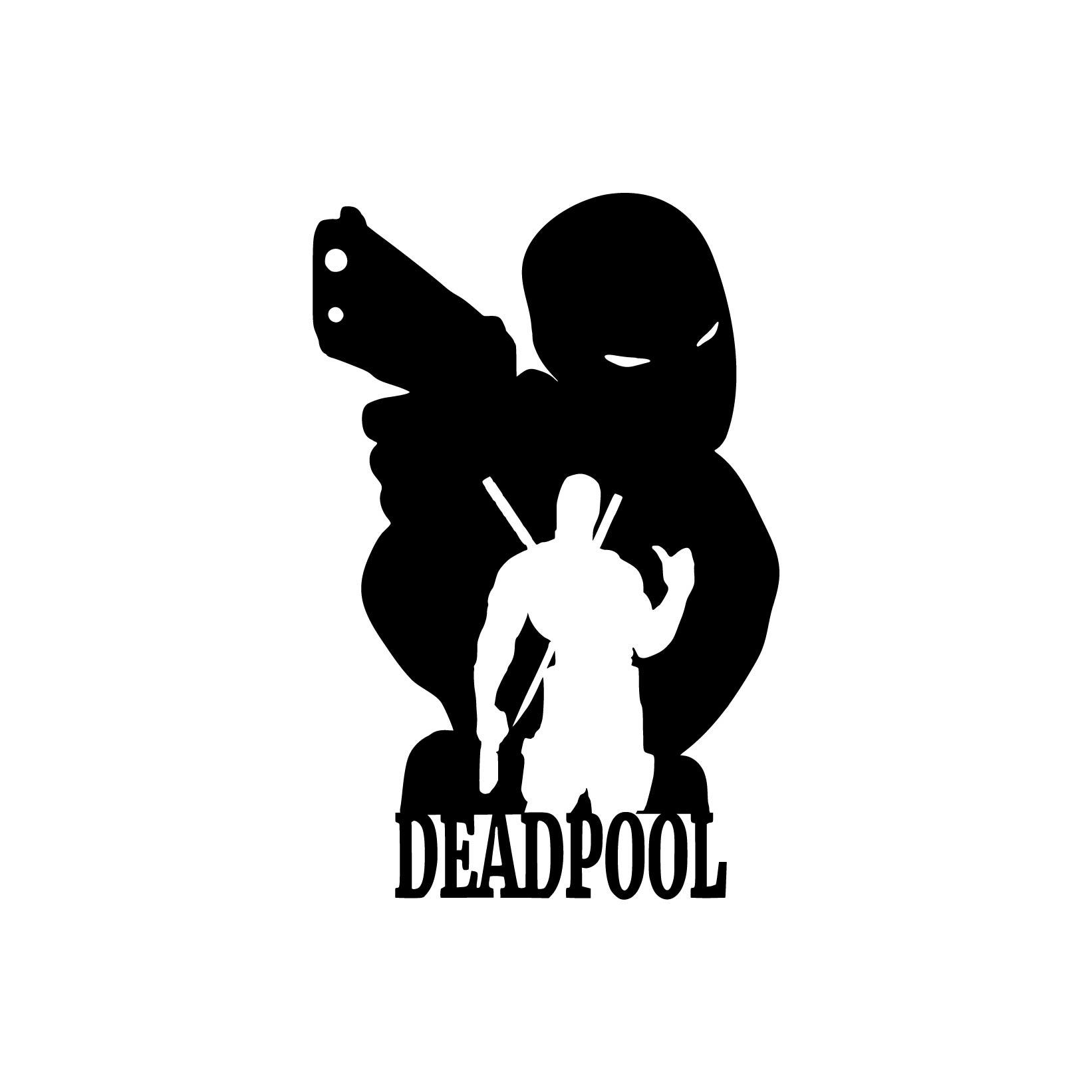 Deadpool 05 Superhero Graphics Design SVG DXF By