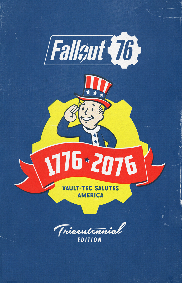 "Fallout 76 Game  Polyester Fabric Poster (13""x19"" or 18""x28"")"