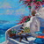 Santorini Original Oil Painting I not now, when? canvas wall art Greece Seascape
