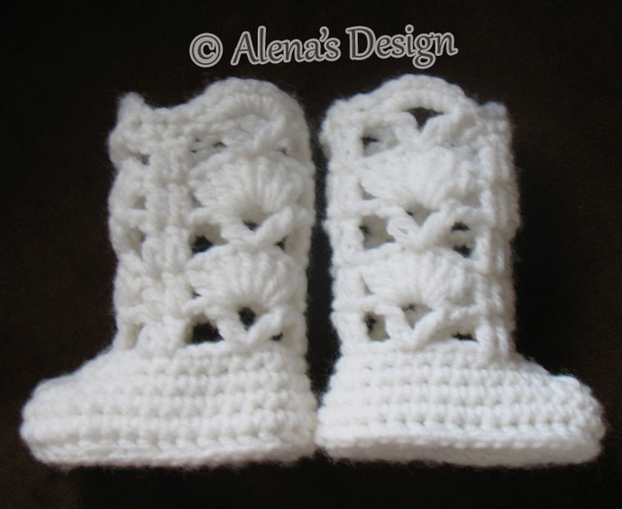 Crochet Pattern 181 Elegant Boots for 18 inch Doll Crochet Boot Pattern Crochet