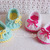 Crochet Pattern 136 Crochet Shoes Pattern 18 inch Doll Bow Slippers American