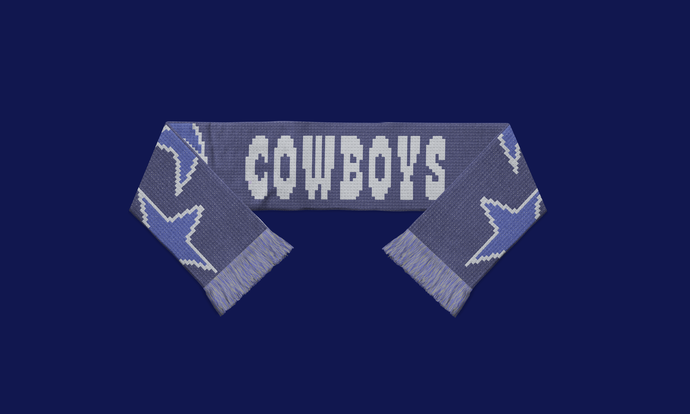 Cowboys Scarf Pattern