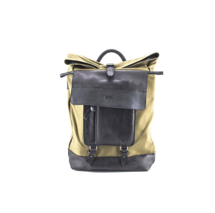 Waterproof Waxed Canvas Rucksack Unisex Backpack Canvas Backpack Men  Backpack 64fa2ca133