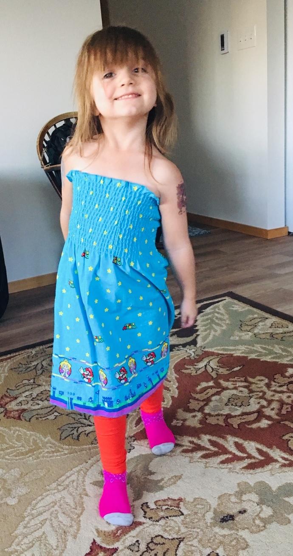 Little Gamer Girl Dress