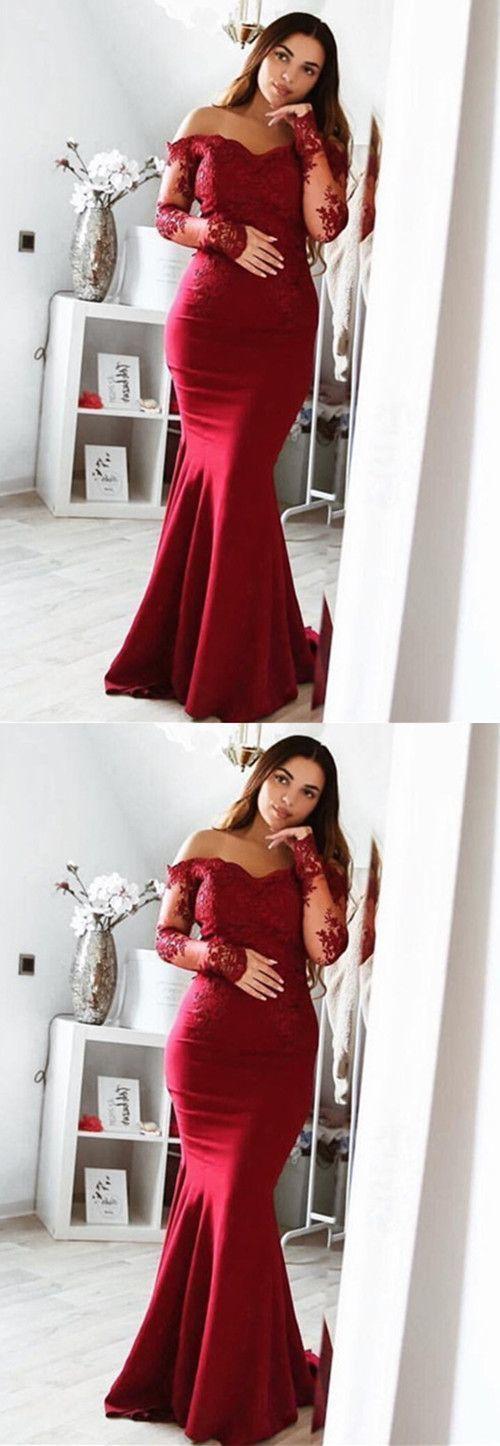 burgundy bridesmaid dresses,burgundy evening gowns,burgundy prom dress,long