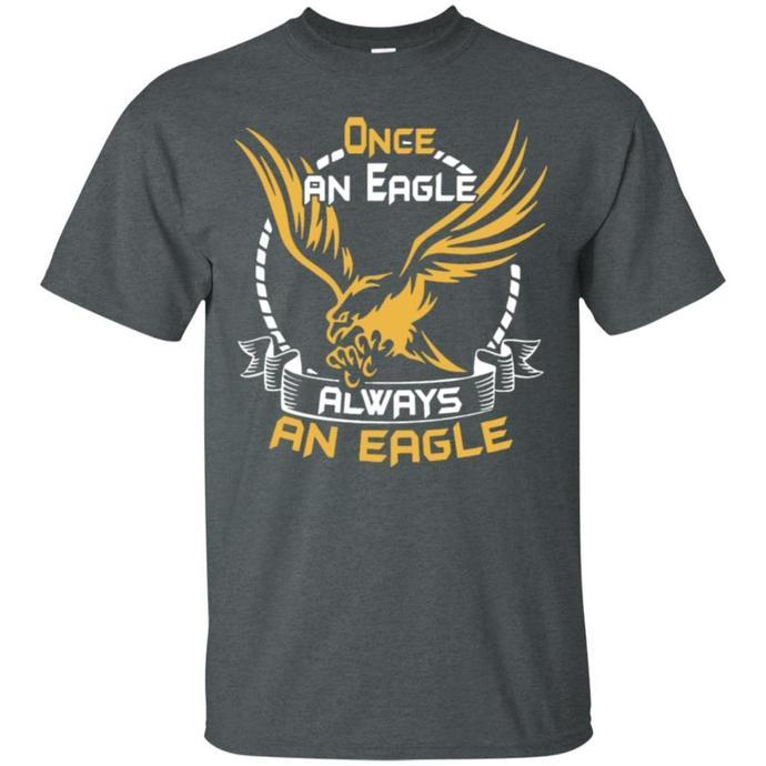 Once An Eagle Always An Eagle Men T-shirt, Eagle Men T-shirt